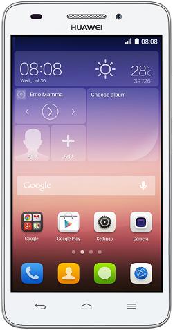 Смартфон Huawei Ascend G620s (белый)