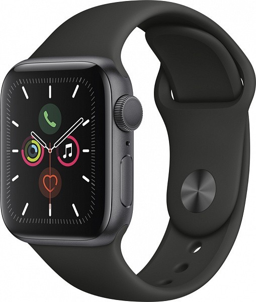 Смарт-часы Apple Watch Series 5 44 мм (серый космос)