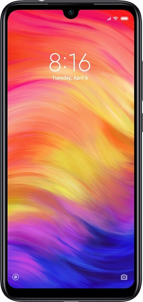 Смартфон Xiaomi Redmi Note 7 128GB (черный)