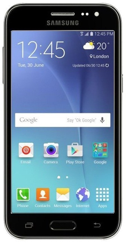 Смартфон Samsung Galaxy J2 J200H/DS (черный)
