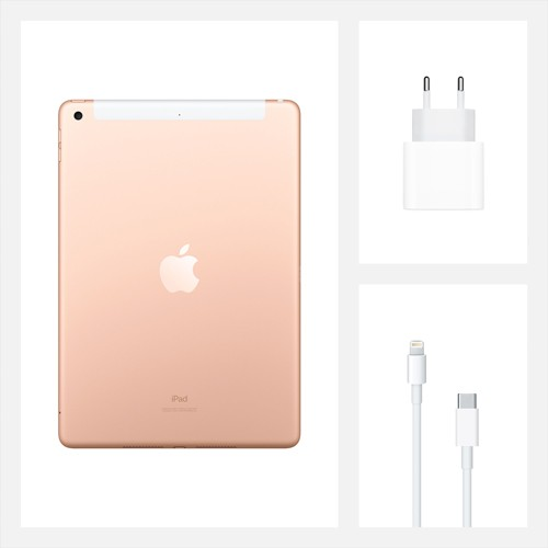 Планшет Apple iPad 8th Gen 2020 Wi-Fi + Cellular 128Gb (золотой)