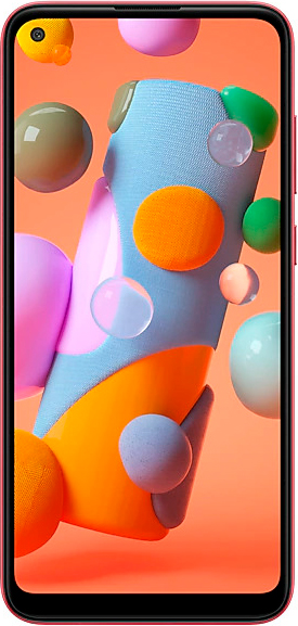 Смартфон Samsung Galaxy A11 2/32Gb (красный)