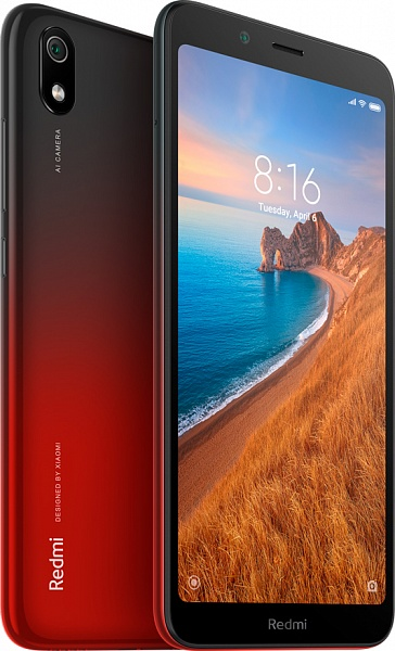 Смартфон Xiaomi Redmi 7A 2/32Gb (красный)