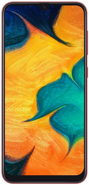 Смартфон Samsung Galaxy A30 4/64 GB (красный)