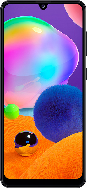 Смартфон Samsung Galaxy A31 4/64GB (черный)