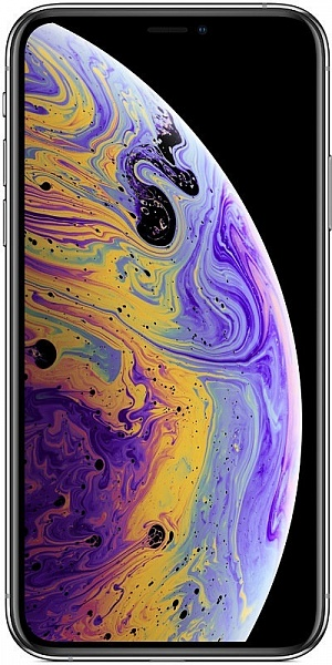 Смартфон Apple iPhone Xs Max 64GB (серебро)