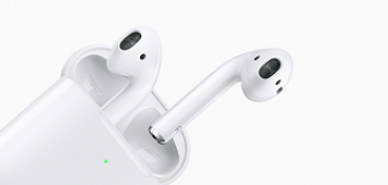 Скидки на наушники Apple AirPods до 100 рублей