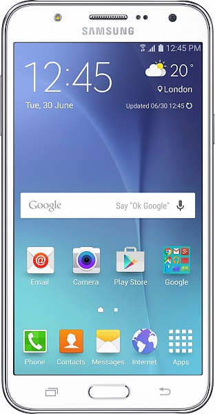 Смартфон Samsung Galaxy J5 J500H/DS (белый)