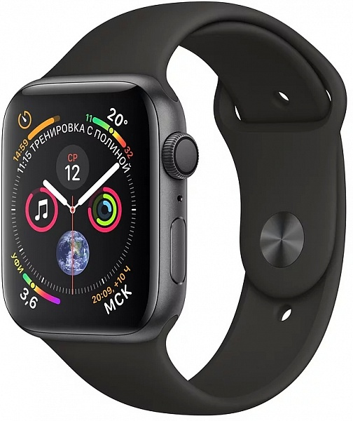 Смарт-часы Apple Watch Series 4 40 mm (серый космос)