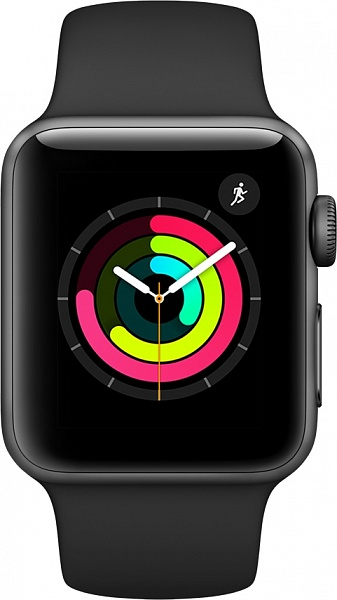 Смарт-часы Apple Watch Series 3 42 мм (серый космос)