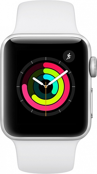 Смарт-часы Apple Watch Series 3 38 mm (серебро)
