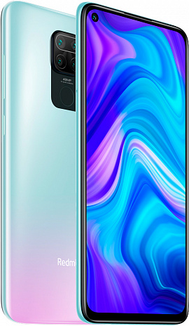 Смартфон Xiaomi Redmi Note 9 4GB/128GB (белый)