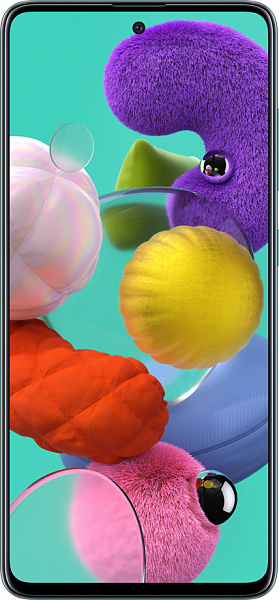 Смартфон Samsung Galaxy A51 4/64GB (голубой)