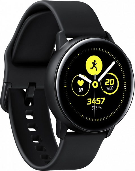 Смарт-часы Samsung Watch Active (черный)