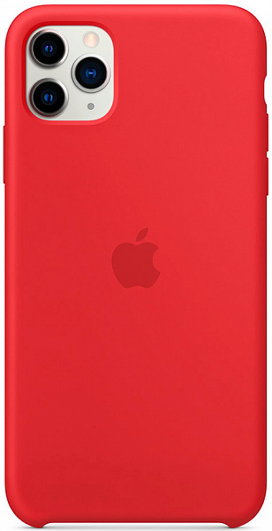 Чехол Apple для iPhone 11 Pro Max Silicone Case (красный)