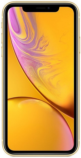 Смартфон Apple iPhone XR 64GB (желтый)
