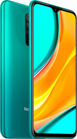 Смартфон Xiaomi Redmi 9 4/64GB (зеленый)
