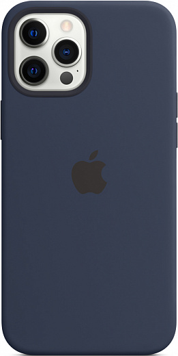 Чехол Apple для iPhone 12 Pro Max Silicone Case with MagSafe (ультрамарин)