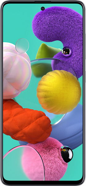 Смартфон Samsung Galaxy A51 6/128GB (белый)