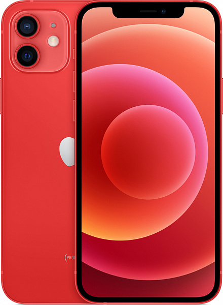 Смартфон Apple iPhone 12 256GB (PRODUCT)RED