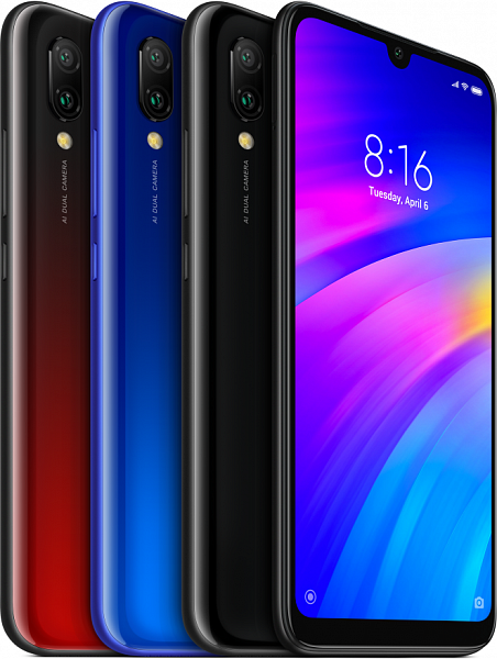 Смартфон Xiaomi Redmi 7 3/64Gb (синий)