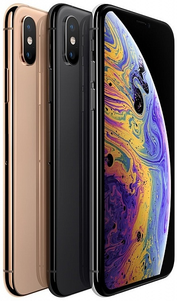 Смартфон Apple iPhone Xs Max 256GB (серебро)